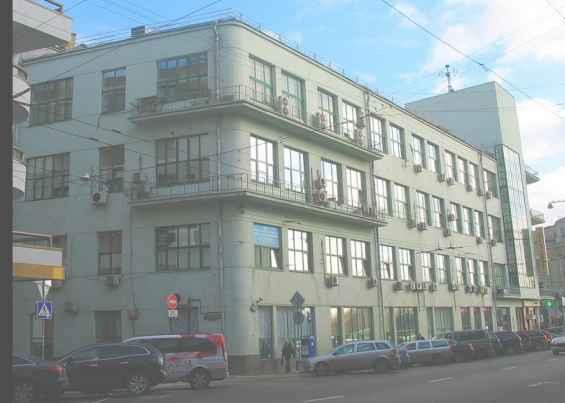 Лубянский проезд. Бывшее здание Наркофина и ЦК ВКСМ